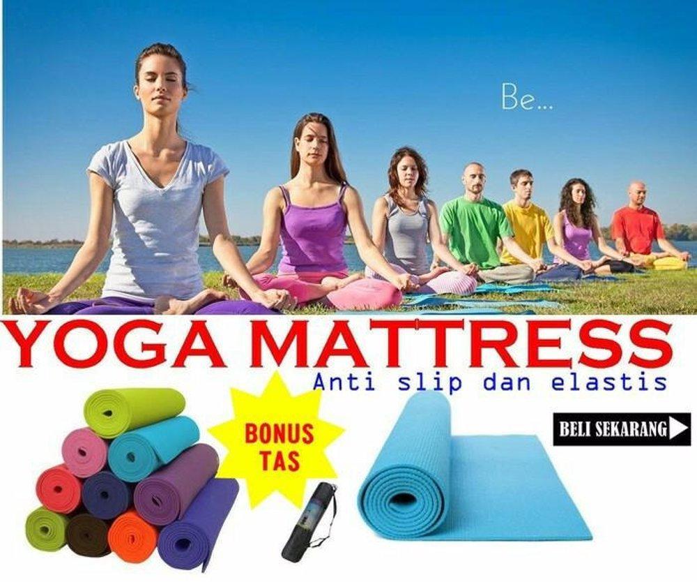 Cara Mudah Bandingkan Harga Matras Yoga Berbagai Marketplace Populer 80mm Kettler Mat 6mm