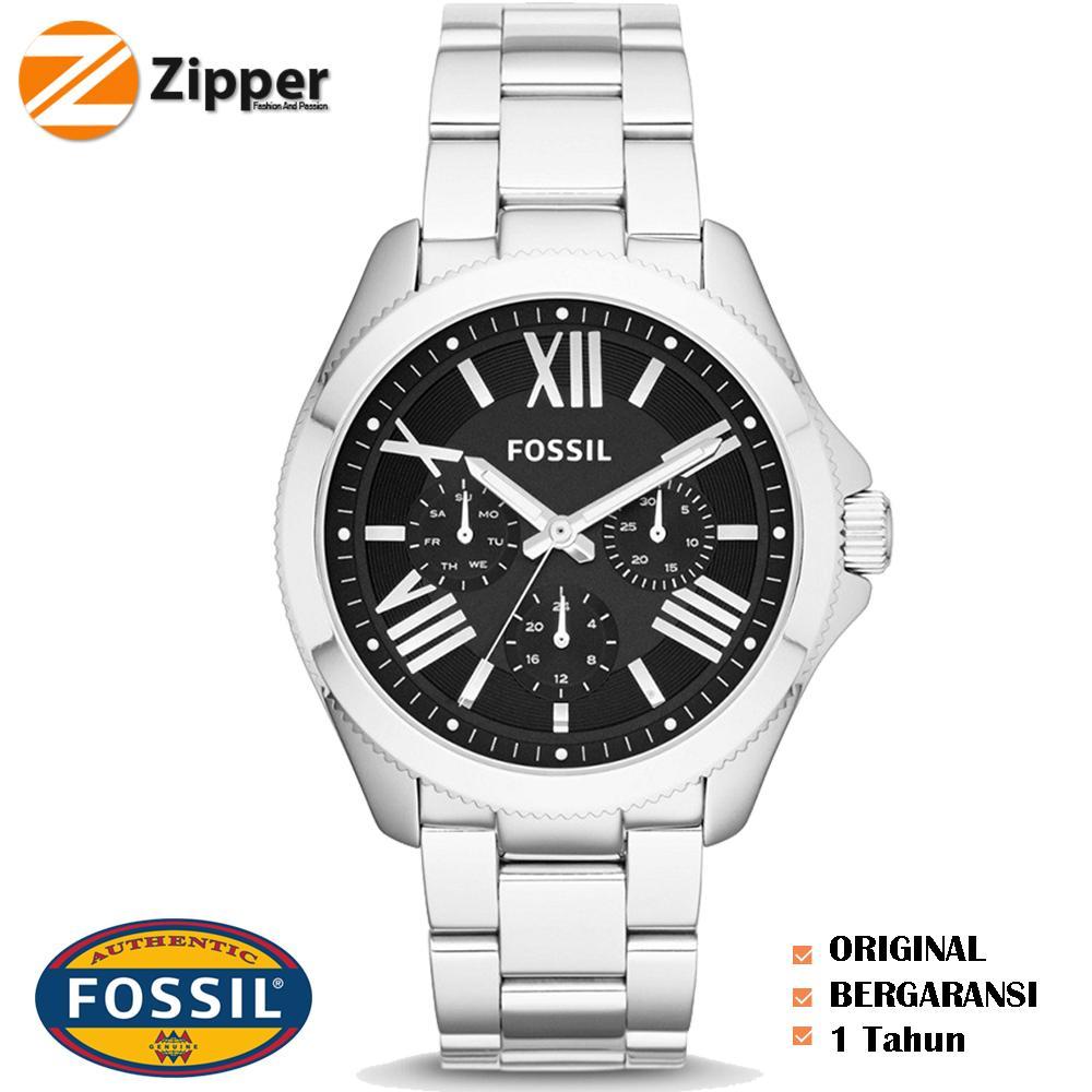 Jam Tangan Fossil Wanita Original Es3060 Zipper Spesial Am4509 Am4510 Am4511 Am4534
