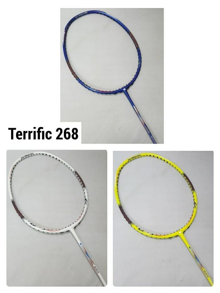Original Apacs Terrific 268 Raket Badminton - Thw9q3 By Dafita Collections.