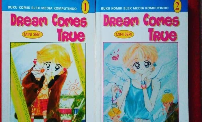 Buku komik manga jepang dream comes true  kode 122