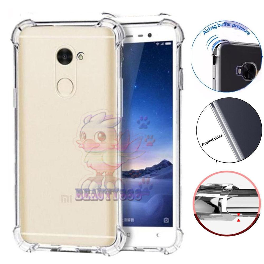 Beauty Case Huawei Y7 Prime Ultrathin Anti Shock / Anti Crack Luxury Softcase Anti Jamur Air Case 0.3mm / Silicone Huawei Y7 Prime / Soft Case / Silikon Anti Crack / Case Hp - Putih Transparant