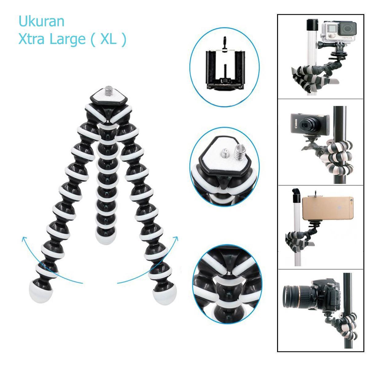 Tripod Camera / Gorilla Pod Tripod For Kamera Dslr Gorillapod Octopus XL Free Holder U