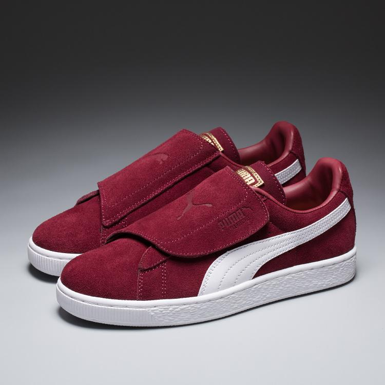 Pumas Sneaker New style Unisex Flat shoes  Casual Shoes - maroon