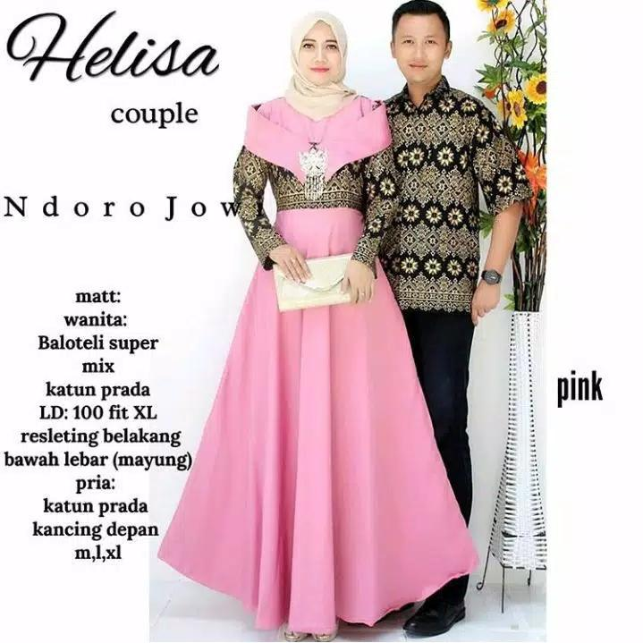 TERMURAH-Batik Modern - Baju Muslim Wanita Terbaru 2018 - Kebaya Couple Modern – Couple
