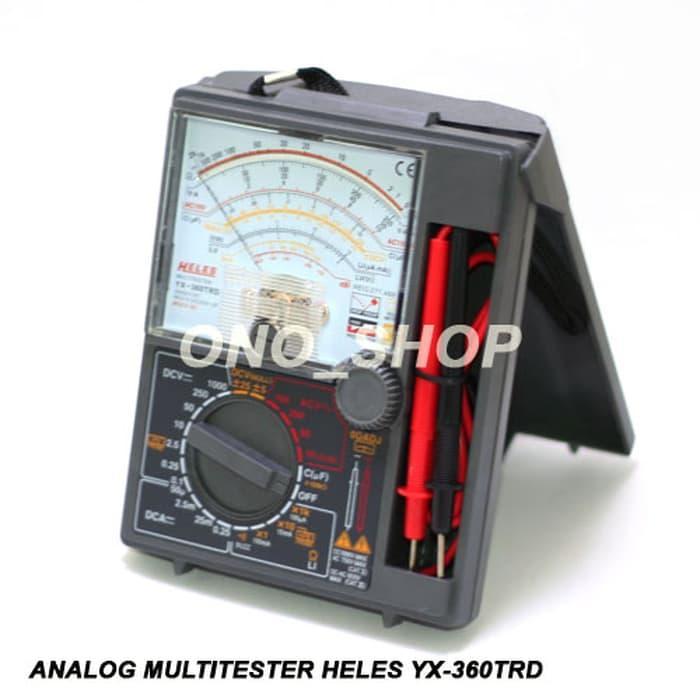 Promo Analog Multitester Heles YX-360TRD Original