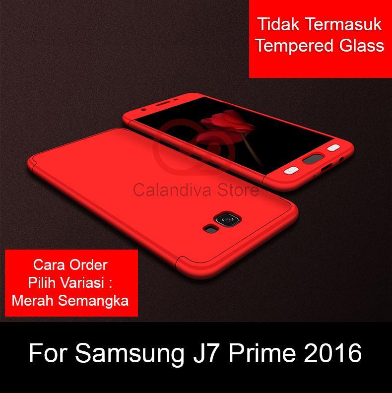 Calandiva Case Samsung Galaxy J7 Prime , On7 Prime, G610f dan J7 Prime 2 , J7 Prime 2018 , G611FF/DS (sama ukuran) Casing Premium Front Back 360 Degree Full Protection Quality Grade A