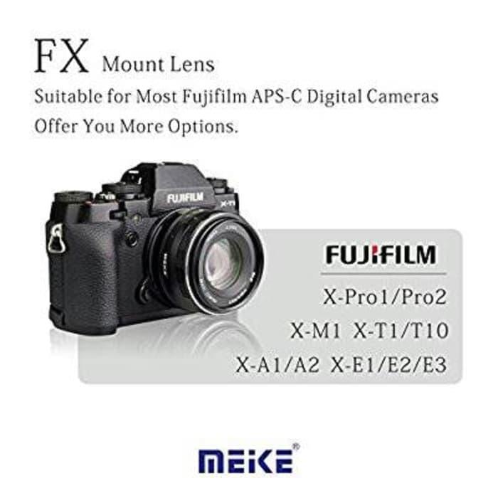 PALING DICARI LENSA MEIKE 35mm F1.7 FOR FUJIFILM - XA10-XA2-XA3-XA5-XT10-X20-XM1 DLL
