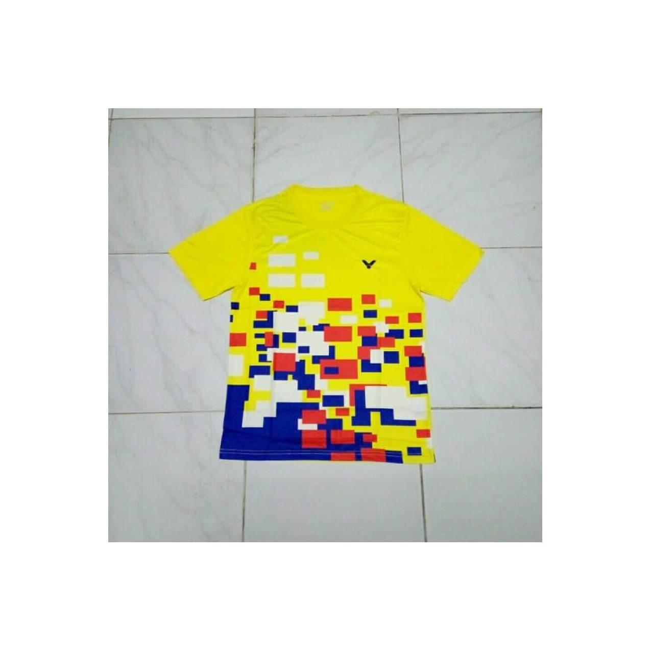 Kaos Baju Badminton Bulutangkis Victor 18277 Malaysia BERKUALITAS