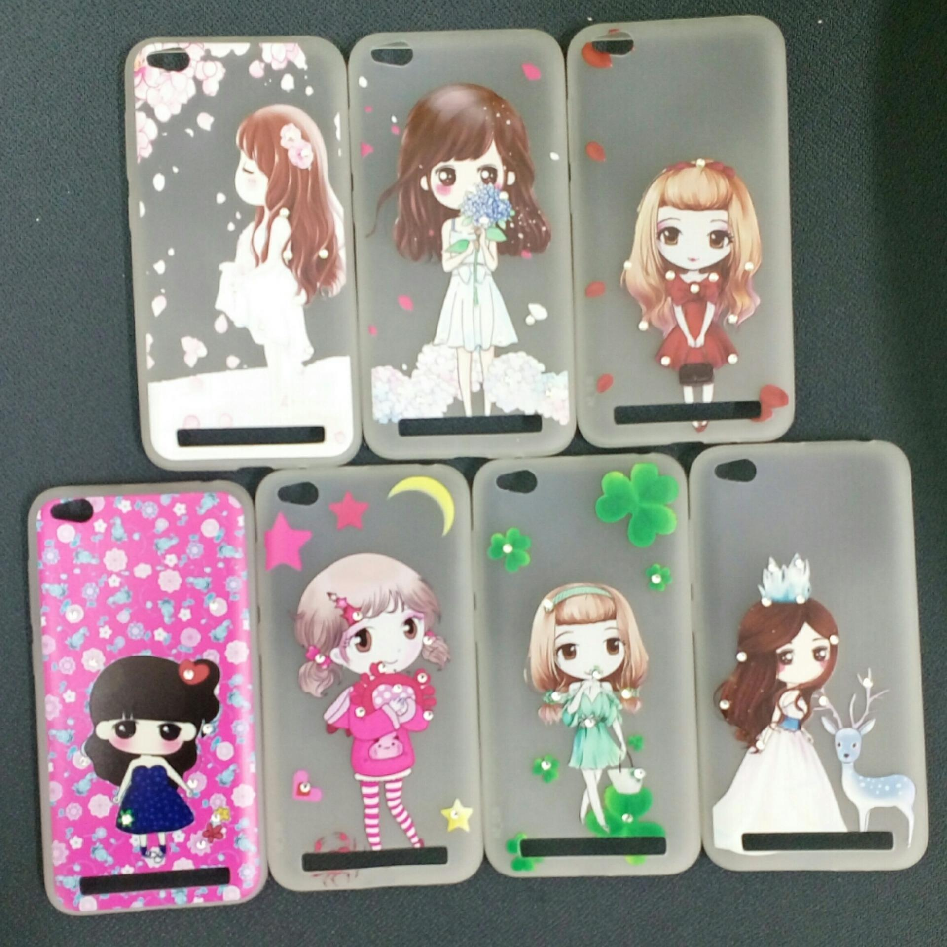 Free Tempered Glass Motif Senada Case. Source · Softcase Korean Lady Girl .
