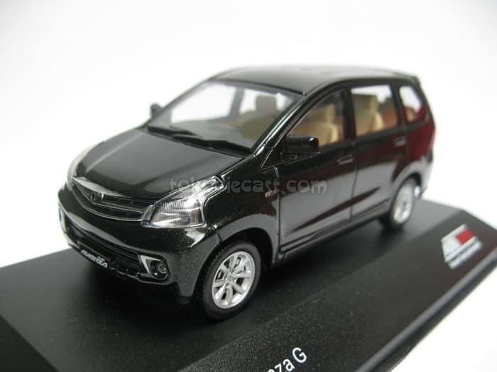 PROMO Diecast Miniatur Mobil Toyota Avanza G hitam  TERLARIS BERKUALITAS