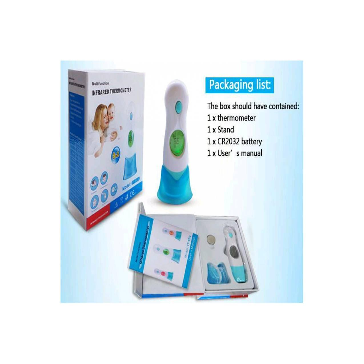 Jual termometer bayi - digital baby thermometer 8 in 1 IT - 903