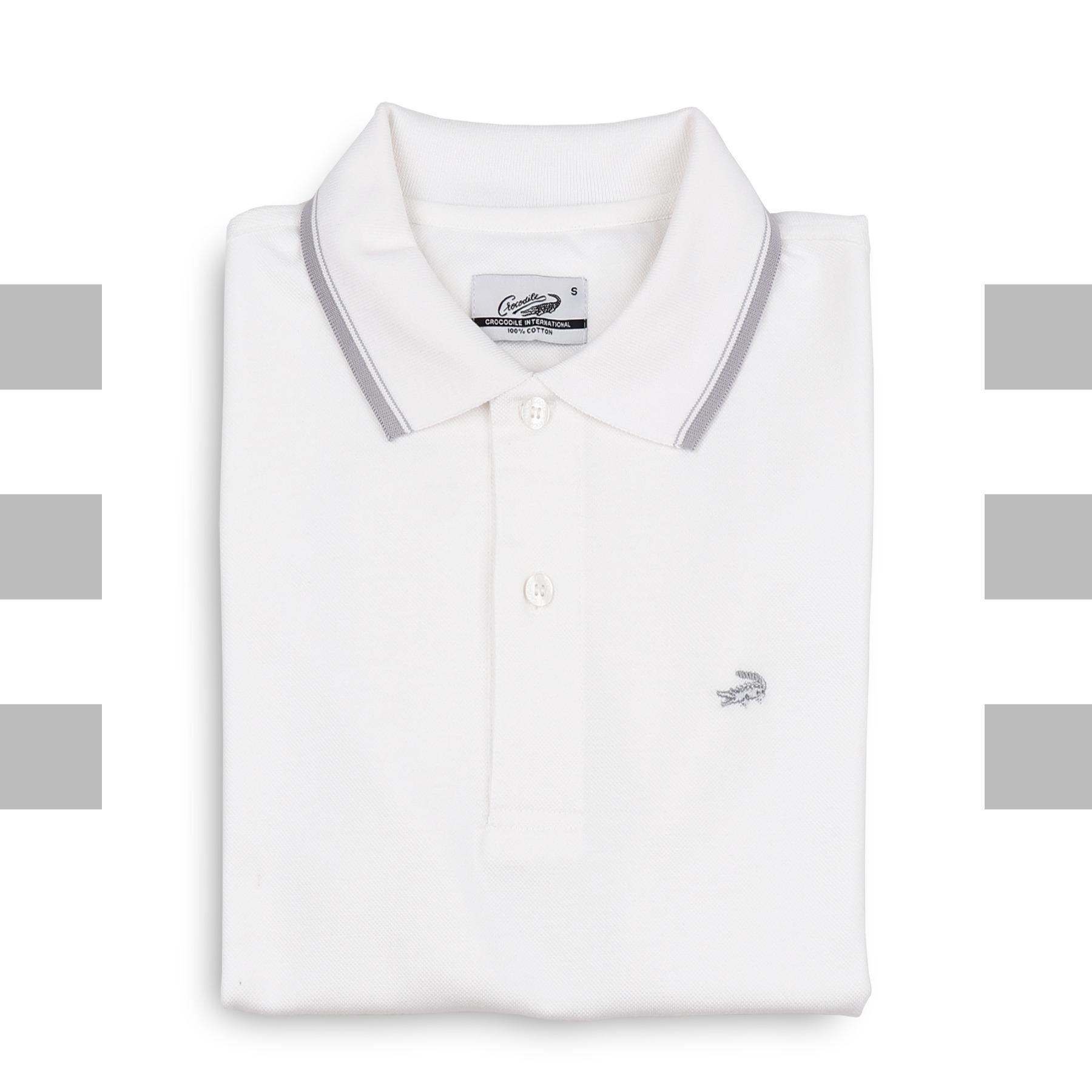 HALO Ash - Baju Pria Crocodile Men Polo Shirt - Bahan Katun 100% Cotton - KHUSUS PENJUALAN ONLINE