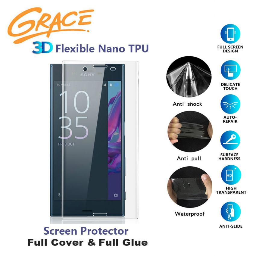 Grace ScratchProof Film for Sony Xperia X Performance / F8132 - 5.0 inch - 3D Full Edge Screen Protector - Clear