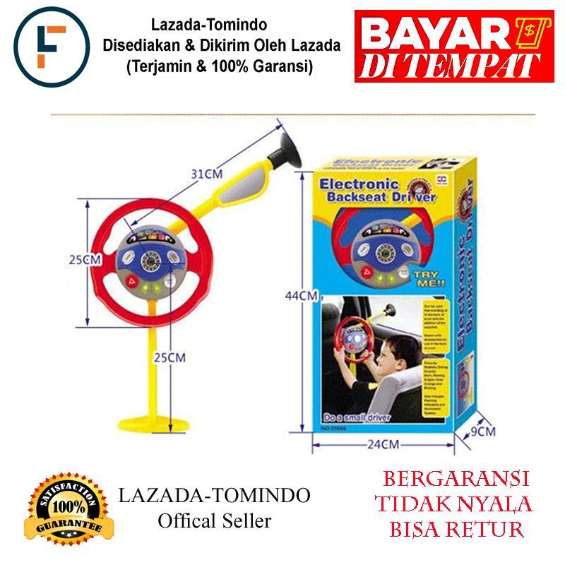 Tomindo Mainan Anak Laki - Mainan Setir Backseat Electronic Driver / Mainan Anak / Mainan Anak Perempuan By Tomindo.