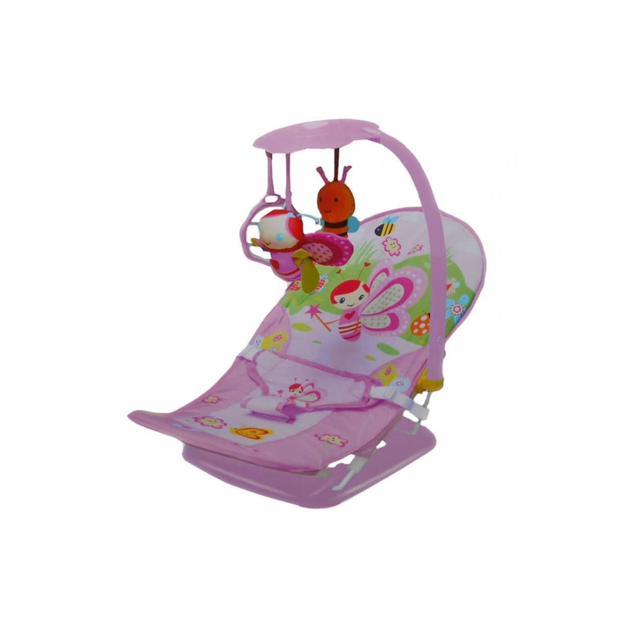 Fold Up Infant Seat Carter Pink / Bouncer / Kursi Santai Bayi