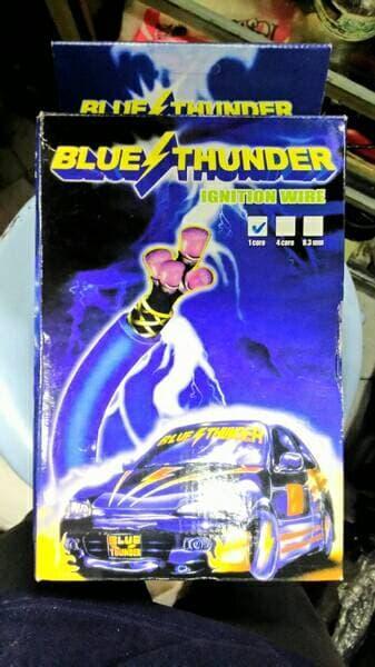 kabel busi blue thunder untuk mobil suzuki escudo, jimny dll