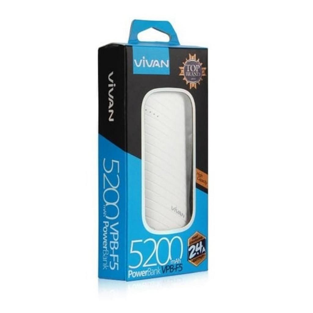 Buy Sell Cheapest Diskon Vivan Cl180 Best Quality Product Deals Power Bank B5 5200 Mah Powerbank Mf20 5000mah Terbaik Mlo Vs Hippo C5