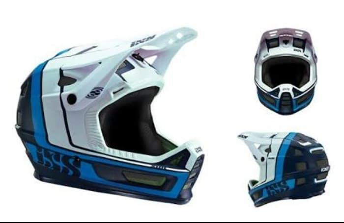 HELM FULLFACE IXS XULT NIGHT BLUE-WHITE L/XL 60-62CM