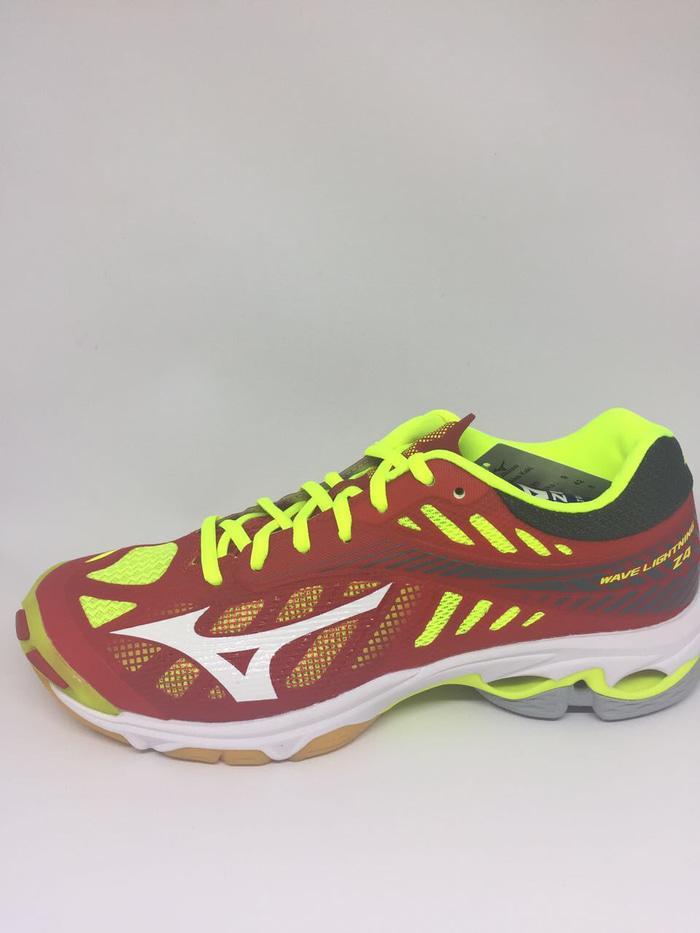 Hemat 10%!! Sepatu Volley Mizuno Original Wave Lightning Z4 Mars Redsafety  Yellow – ready stock 26055cd87f