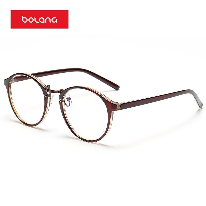 Kacamata minus produk jadi Retro 眼睛框 Bingkai Kacamata pria bingkai kacamata  wanita Gaya Korea pasang 4eda8f5c21