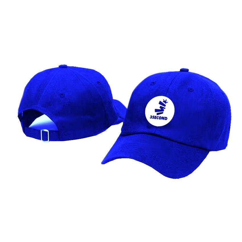 Jakarta Distro Topi Baseball 3SECOND Circel Little White Premium