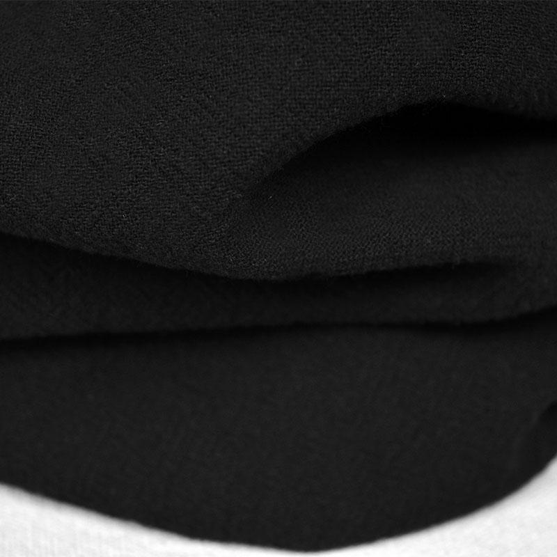 Katun cuci air Kain Linen Warna Polos Etnis sederhana Pakaian gaya Tiongkok  rami crepe Lipat Sepatu 0d7a0a6769