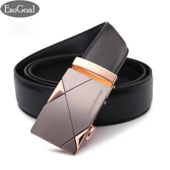 Beli sekarang EsoGoal Men reversibel bisnis kasual kulit sabuk dengan Removable gesper terbaik murah - Hanya Rp99.299