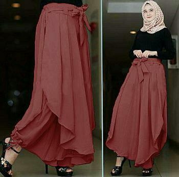 kiara fashion- CELANA KULOT celana wanita muslim celana model terbaru modis dan simpel