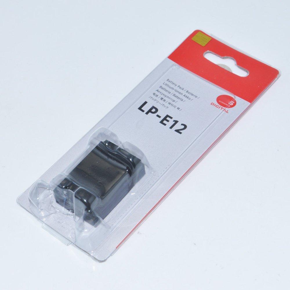 BATTERY CANON LP-E12  for Canon LP-E12 and Canon EOS M, EOS Rebel SL1, EOS 100D. Canon
