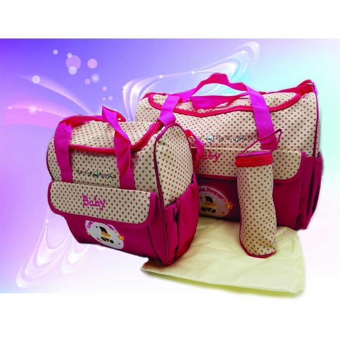 Tas Bayi / Baby Bag Multi Fungsi 4 in 1 Best Produk