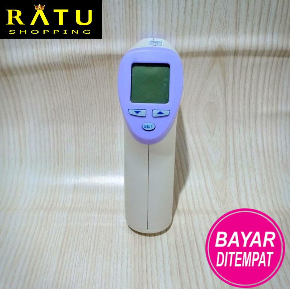 KHUSUS PROMO Termometer infrared forehead lotus