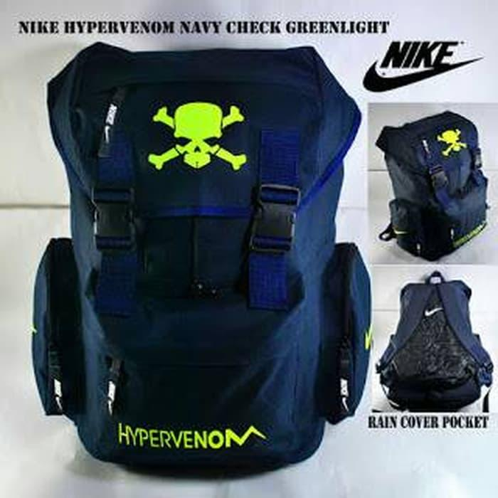 HARGA PROMO!!! RANSEL NIKE HYPERVENOM GIANT NAVY CHECK GREENLIGHT - mw1jvI