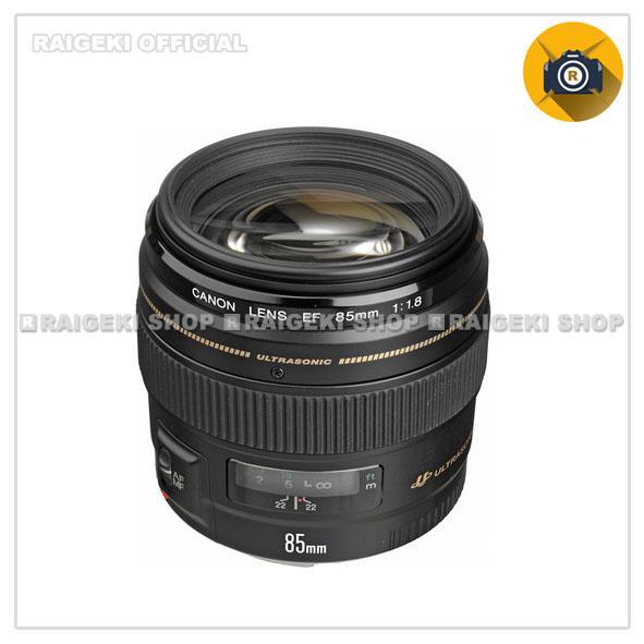 Canon EF 85mm f/1.8 USM - Hitam
