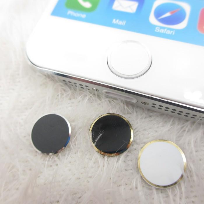 Home Button list for Iphone Ipad Ipod 1 / 2 / 3 / 4 / 5 / 6 / 7 / 8 / + Plus touch id tombol sticke