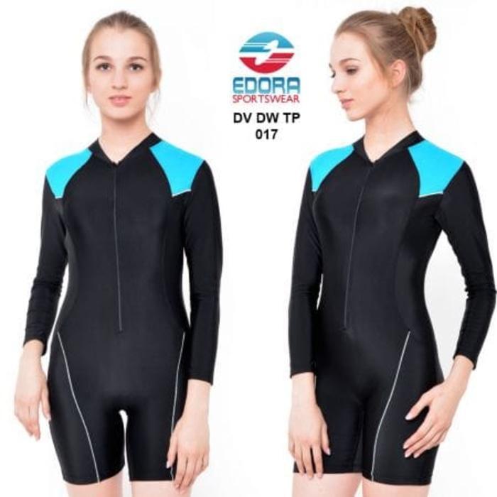 HARGA SPESIAL!!! Baju Renang Wanita Tangan Panjang Perempuan Dewasa 017 - bnKMOm