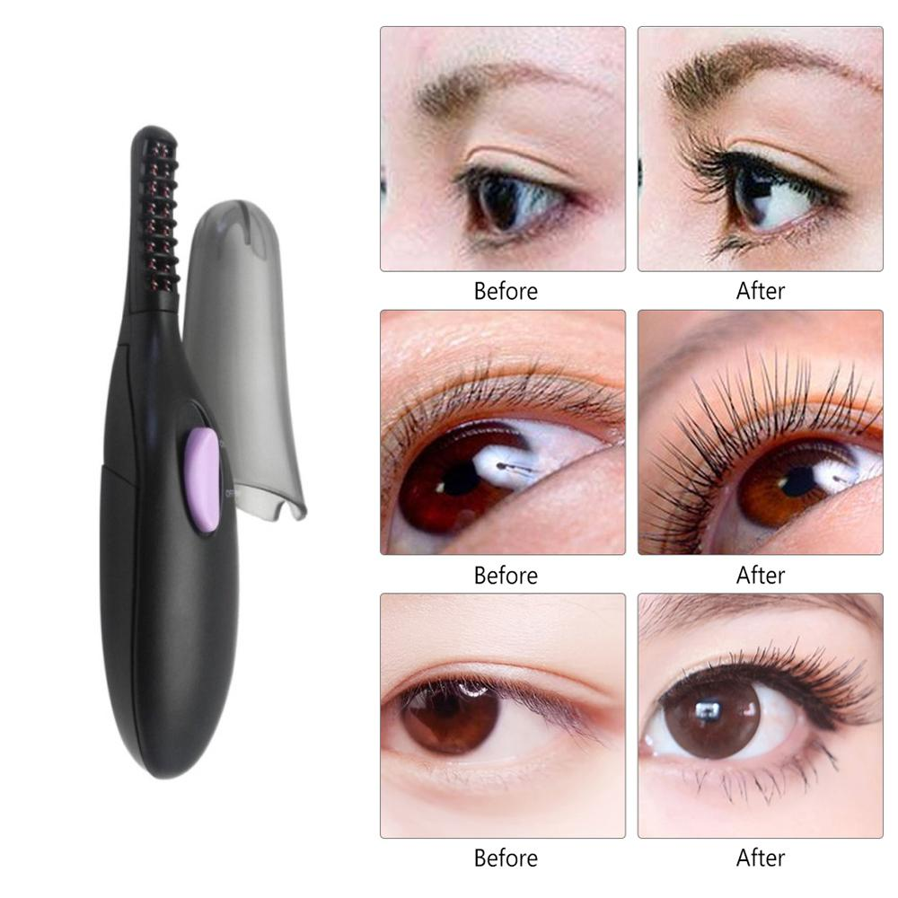 Perfect Beauty Heated Eyelash Curler (Black) - Original/Pelentik Bulu Mata Elektrik