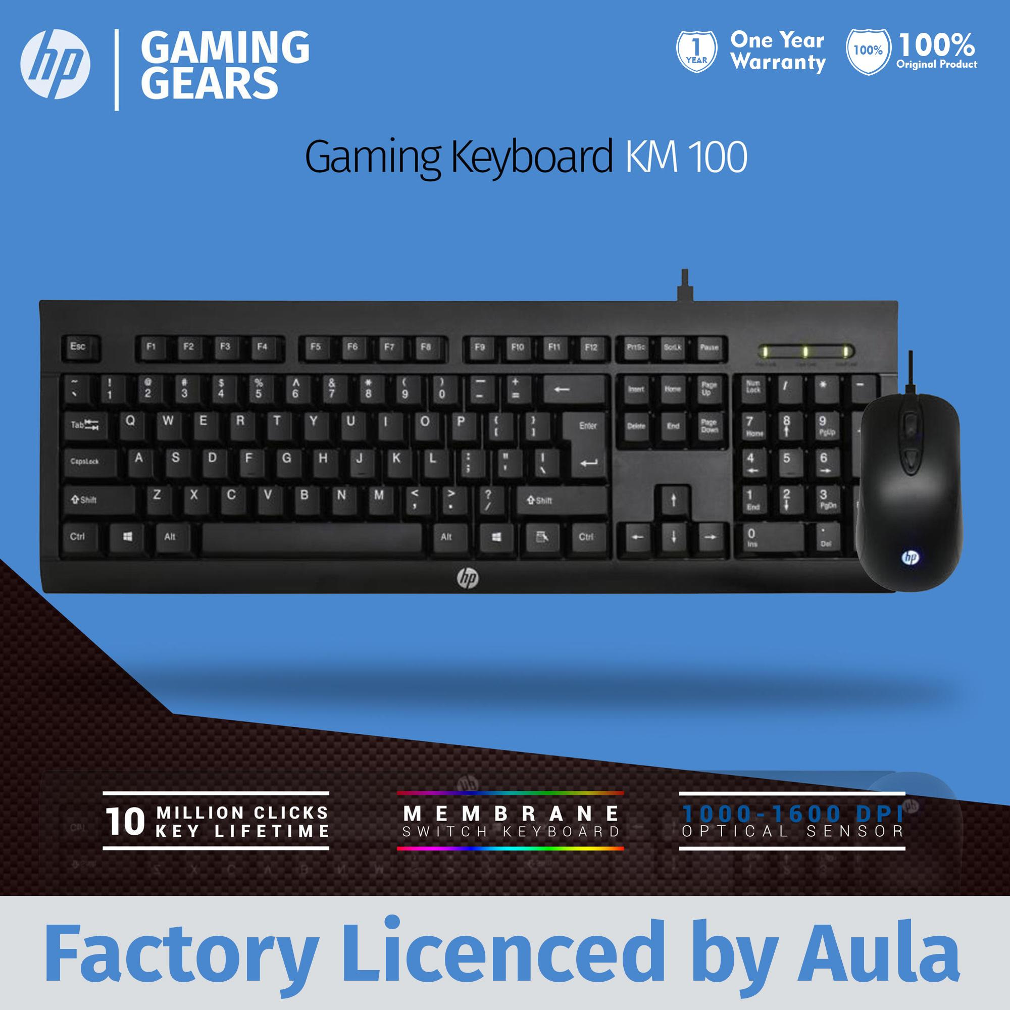 Mouse Keyboard Combo Gaming Hydra Kmh1 Backlight Free Pad Hp Km100
