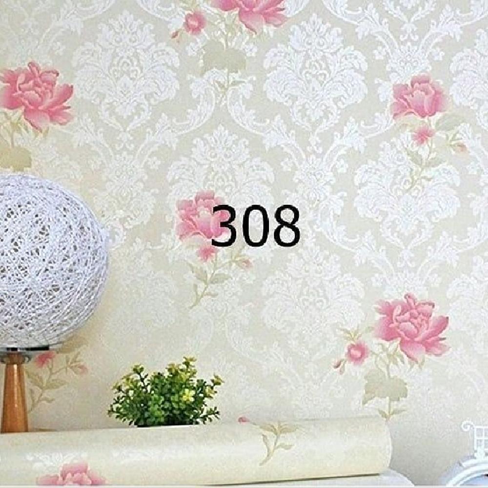 NT - Wallpaper Stiker Dinding Motif Dan Karakter Premium Quality Size 45cm X 10M Bunga Dafodil