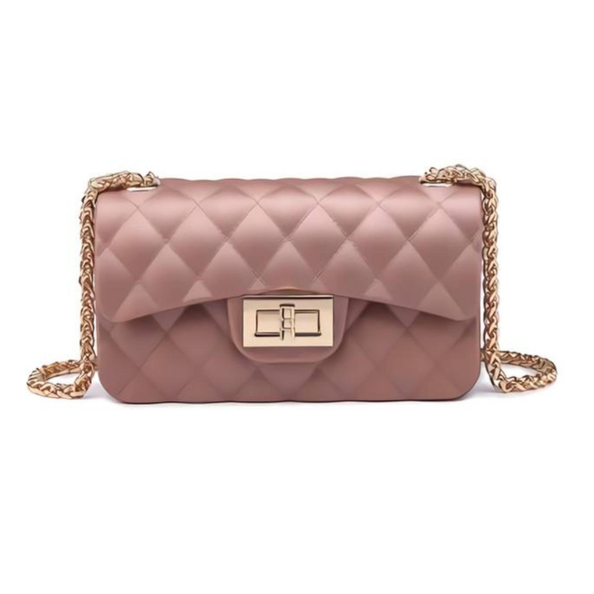 JS Tas Import Jelly PREMIUM Dove Matte Chevron Fashion Anak Remaja Dan  Wanita Dewasa Mewah Cantik f3240db838