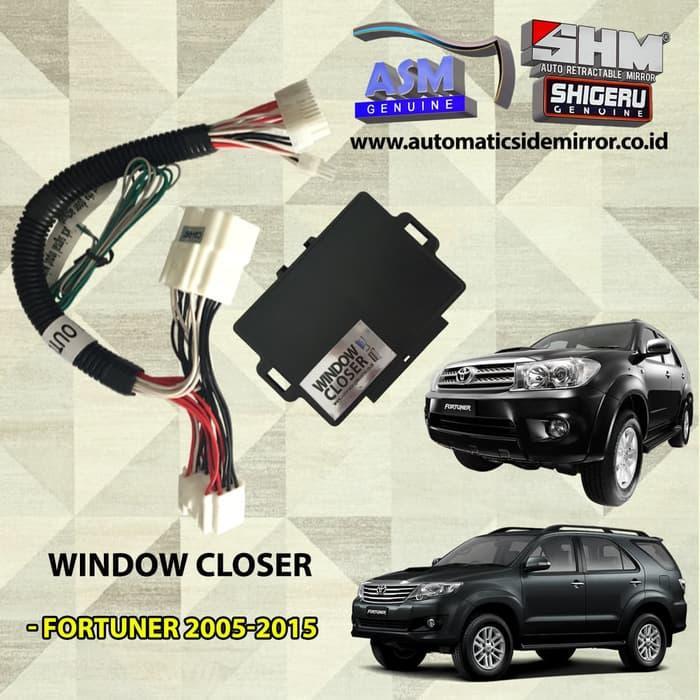 Modul All Auto Window Naik & Turun Otomatis Toyota Fortuner 2005-2015