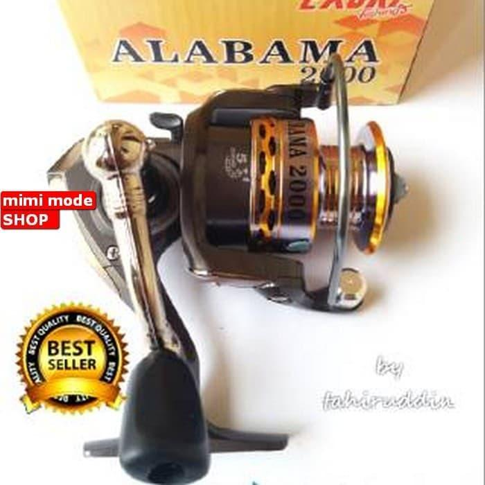 BARANG TERLARIS DAN MURAH Reel EXORI ALABAMA 2000 Power Handle