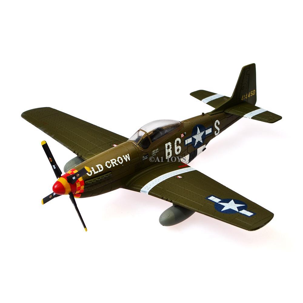 Air Force 1 P51D Mustang 363rd FS Diecast Pesawat 14 cm 1:72