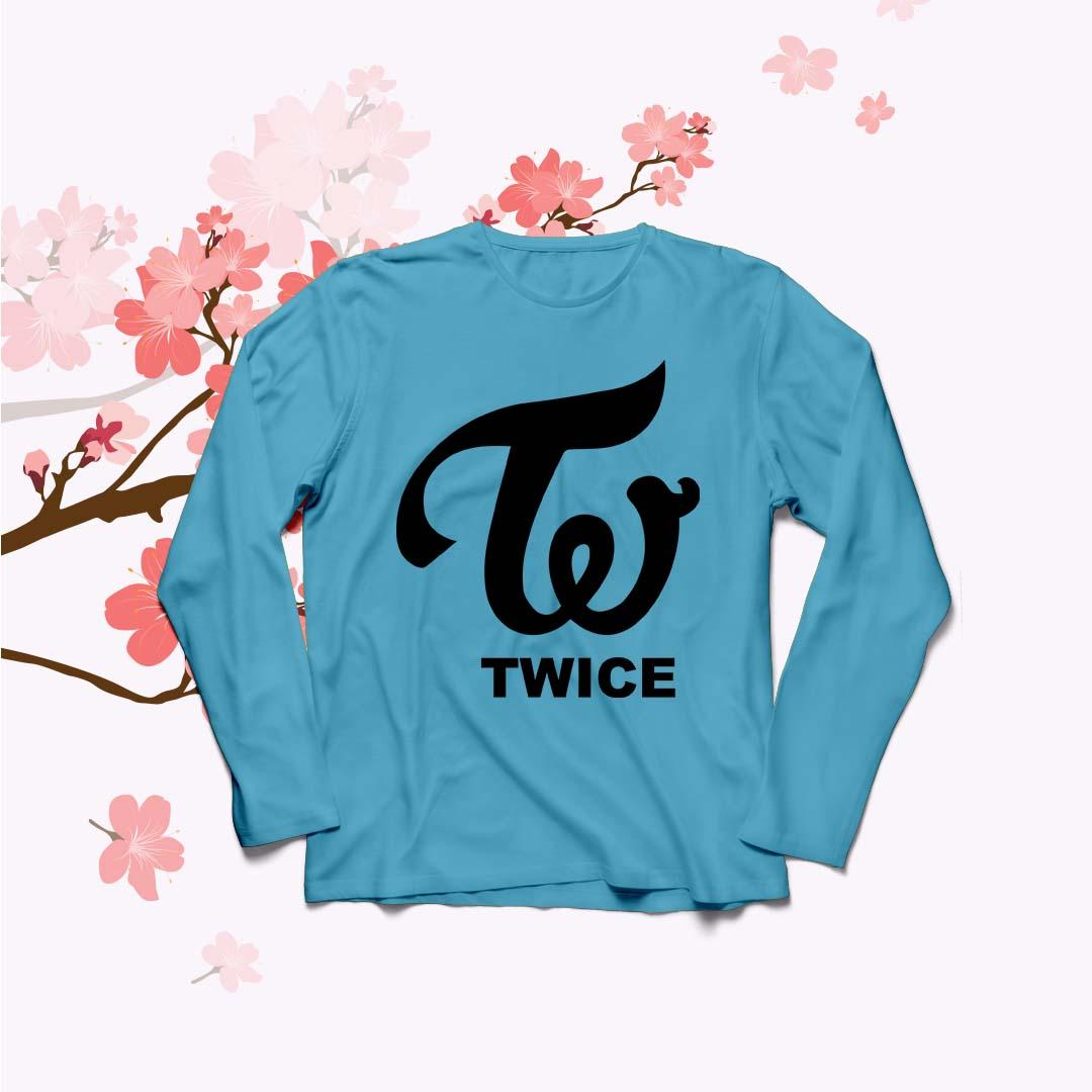 YGTSHIRT - Baju Kaos T-shirt TWICE Big Size Ukuran XL Tumblr Tee Lengan Panjang