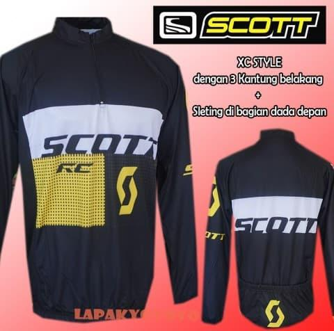 HARGA SPESIAL!!! Jersey sepeda Scott XC MLT - LS - 5pmzOI