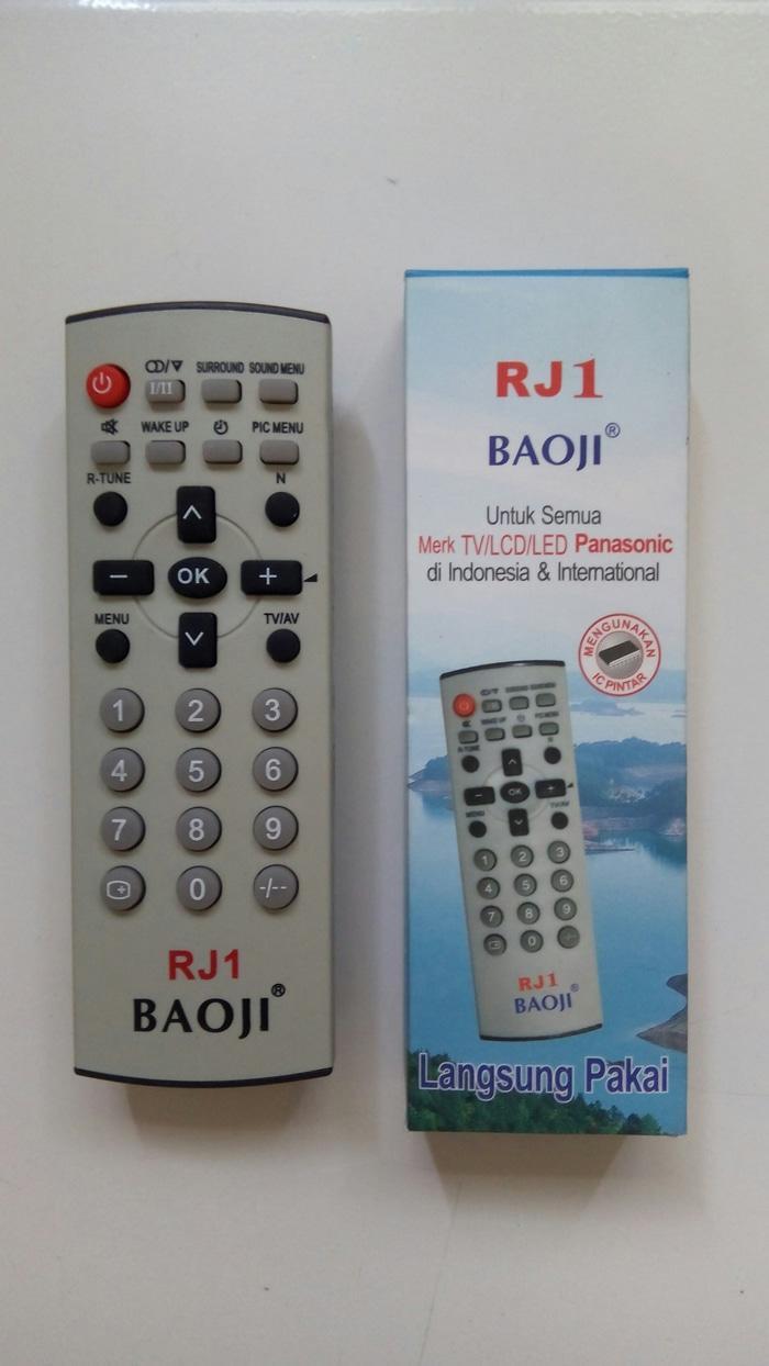 G TRONIK REMOT/REMOTE TV PANASONIC TABUNG/FLAT/LCD/LED MULTI/