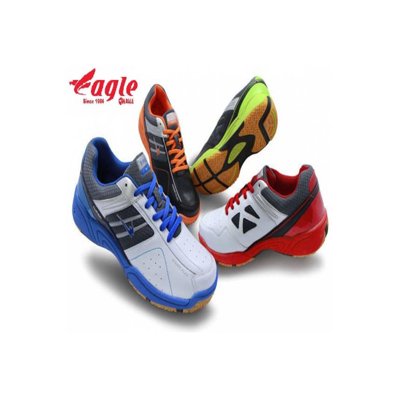 Sepatu badminton Eagle phyt / volly volley asics professional mizuno