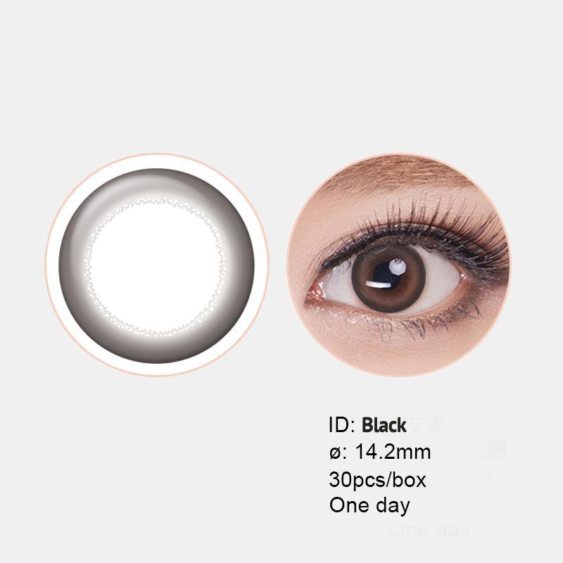 SOFTLENS ACUVUE DEFINE 1 DAY - WARNA HITAM