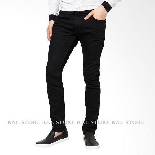 RAL fashion - MEN'S JEANS SKINNY / DENIM - BLACK / PREMIUM QUALITY / HOT ITEM
