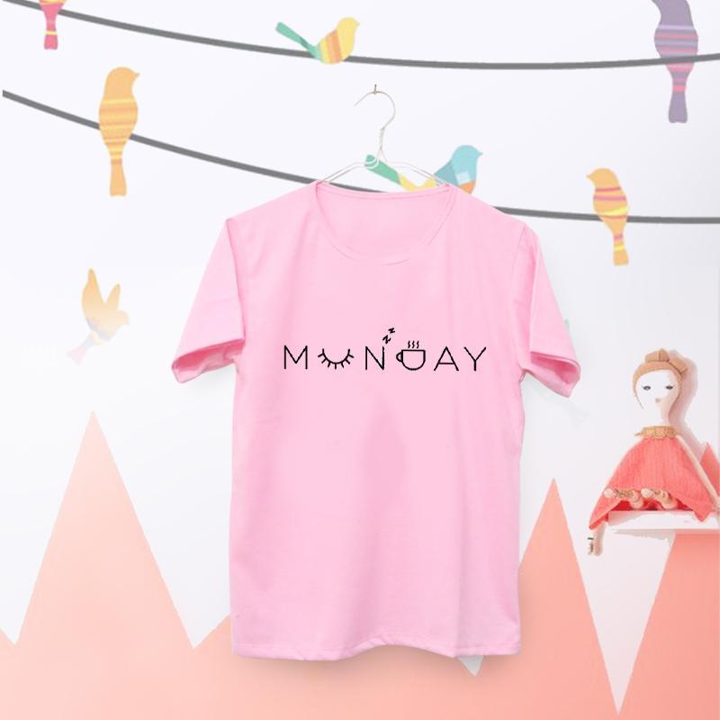 ELLIPSES INC Tumblr Tee / T-Shirt / Kaos Wanita Munday - Pink