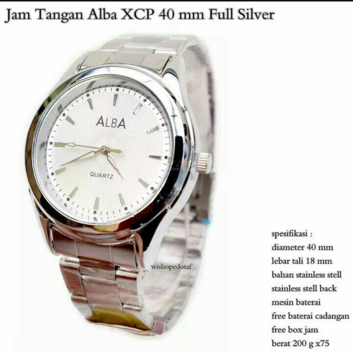 ALBA-Jam tangan Pria-Jam Tangan Rantai stainles
